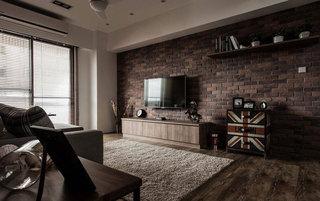 美式电视背景墙设计图片