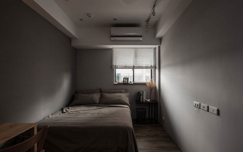 美式风格三居室80平米旧房改造平面图