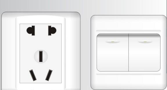 装修百科 施工安装 开关插座安装  开关插座安装方法:1,指示灯开关