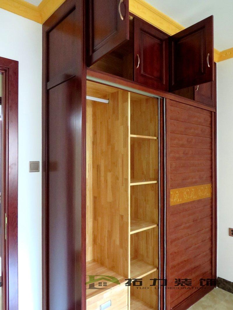 木工卧室衣柜图片大全