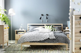 宜家风格温馨卧室设计