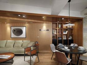 宜家风混搭设计 打造78平有味道的公寓