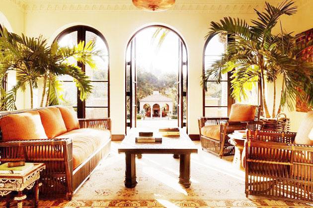 客厅热带雨林风格装修
