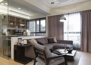 现代简约客厅沙发设计效果图