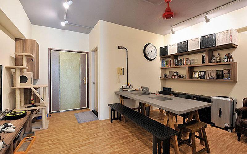 现代简约沙发背景墙图片