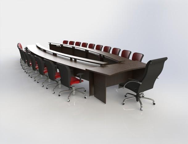 会议桌尺寸