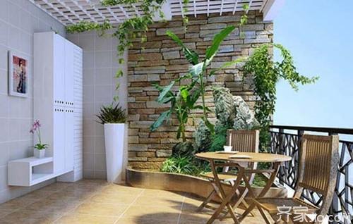 家装常识:阳台用什么样的瓷砖好 最新阳台装修效果图欣赏