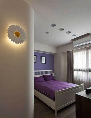 北欧温馨卧室设计效果图