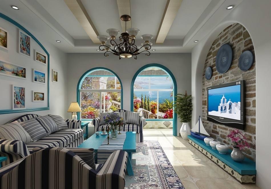 南意大利地中海风格设计说明