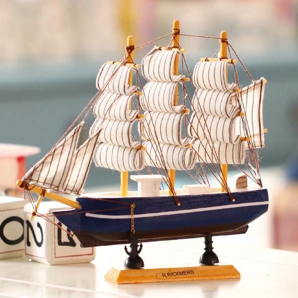 工艺船的搭配