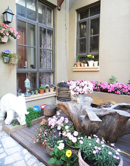 精致露台打造专属花园