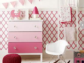 可爱实用收纳柜 11图装扮粉嫩家