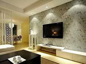 13款简约电视背景墙 打造家居时尚范儿