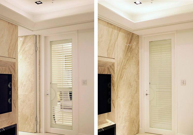 欧式风格二居室80平米装修效果图
