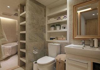 现代简约风格三居室100平米装修效果图