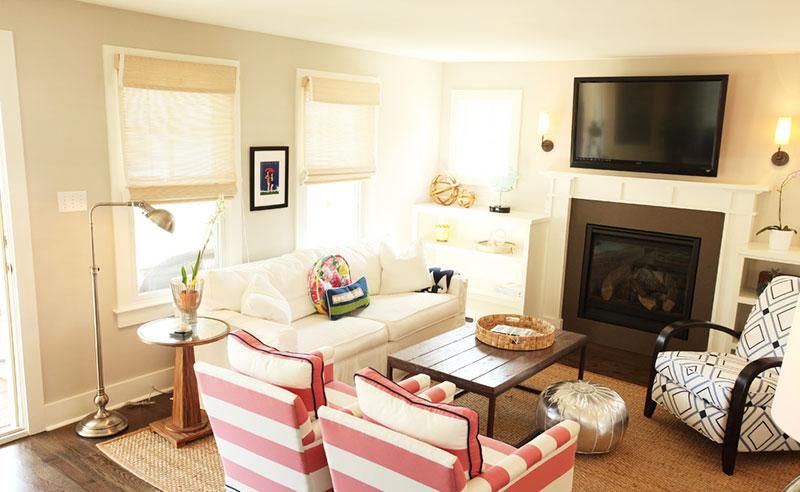 欧式小客厅电视背景墙效果图