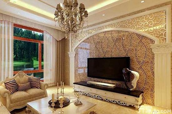 电视墙装修材料有哪些 客厅电视背景墙效果图
