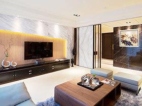 15张客厅电视背景墙图片 简约时尚