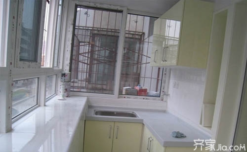 厨房小户型v厨房小手机也有大作为阳台平面设计软件图片素材图片
