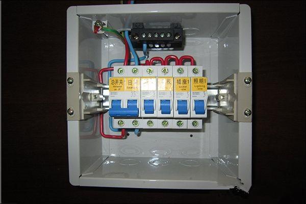 家用配电箱接线图详解