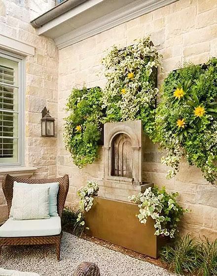 天然氧吧入户花园设计