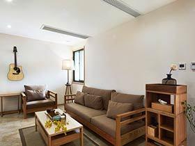 125平米复式房装修 简约原木自然风格
