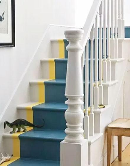 装修效果图 家居美图 创意家庭复式楼梯设计