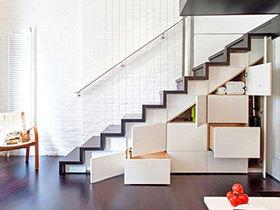 14个楼梯收纳案例 化鸡肋为神奇