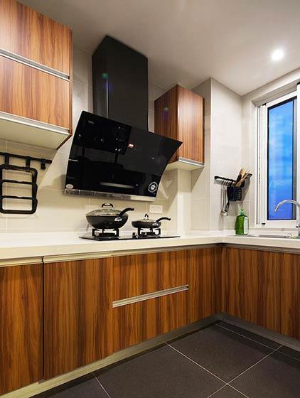 90平米小户型装修效果图厨房设计6/11