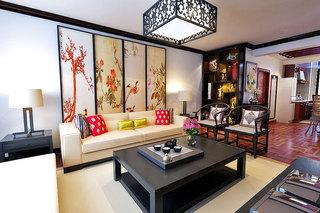 雅致中式客厅沙发图片