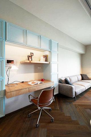83平米小户型温馨雅居工作区设计