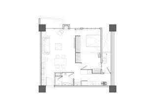 83平米小户型温馨雅居平面图厅设计
