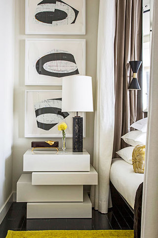 简欧风格公寓大气效果图