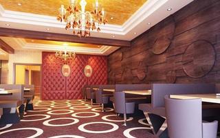高档酒店餐厅装修效果图