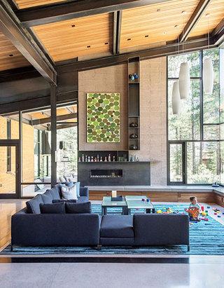简约别墅装修效果图客厅设计