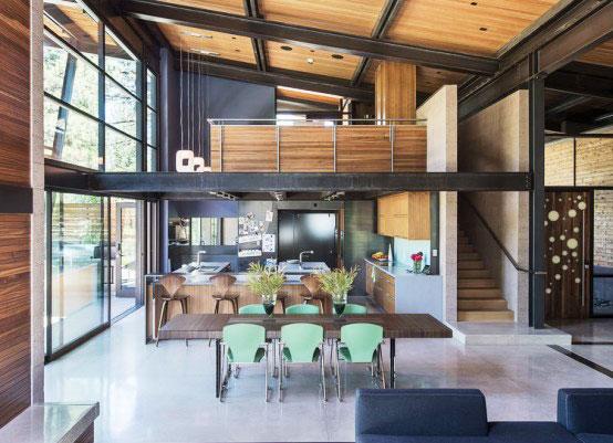 简约别墅装修效果图餐厅设计