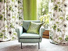 12个布艺窗帘效果图 布置温馨角落