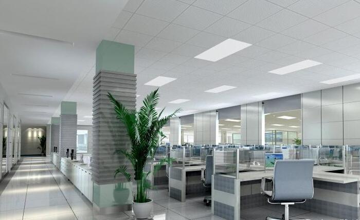 写字楼办公区装修效果图
