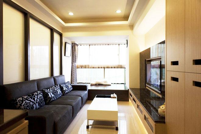 68平米小户型装修案例客厅设计