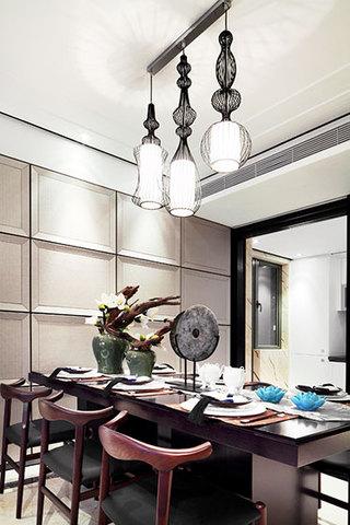 150平米装修效果图中式餐厅设计