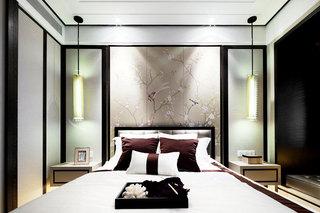 150平米装修效果图中式卧室设计