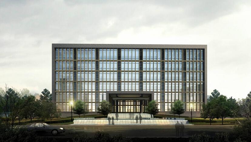 设计装潢效果图片 美容院15-30万90-120平米 0 现代写字楼外观装修