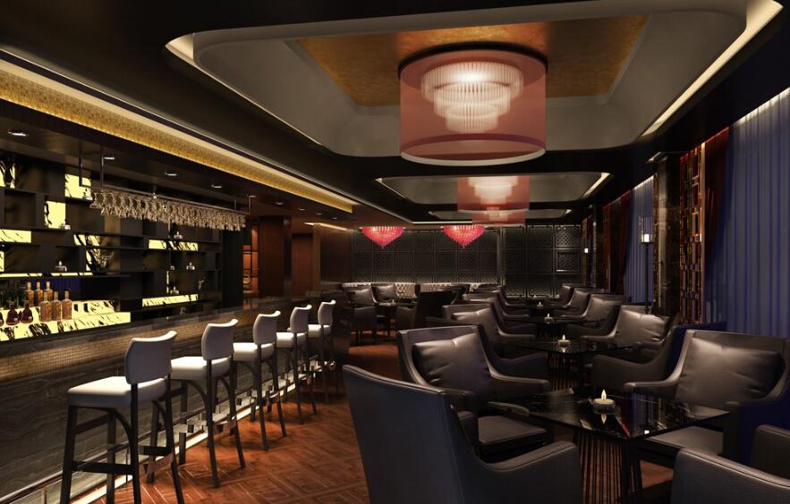 酒吧室内设计效果图