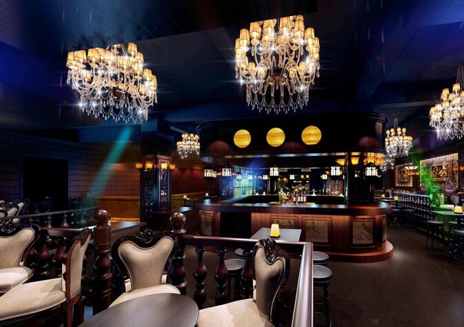酒吧餐桌装修效果图