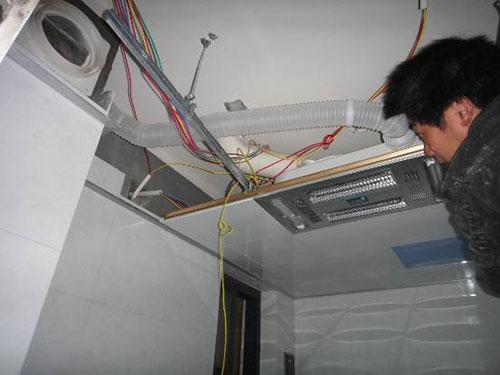 集成吊顶浴霸如何安装?