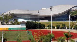 体育馆外景设计效果图
