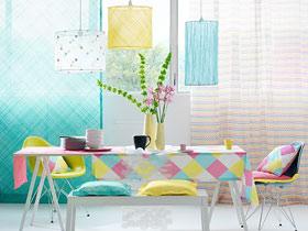造個情調場所 15款清新餐廳窗簾設計