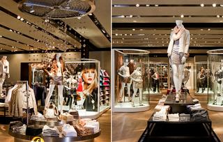 现代时尚服装店设计装饰室内效果图片