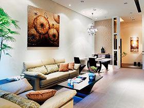 116平米现代简约风格装修 温馨舒适空间