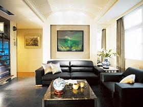 140平方装修效果图 两室一厅改造典范